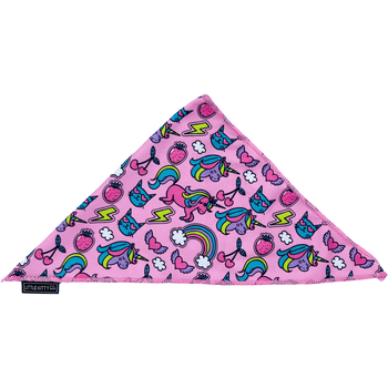 Cat Cooling Bandana Meow-gical Unicorns and Rainbows Print