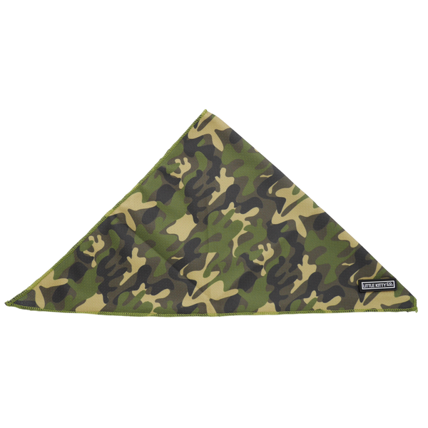 CAT BANDANA: Cool Cat Camo (NEW!)