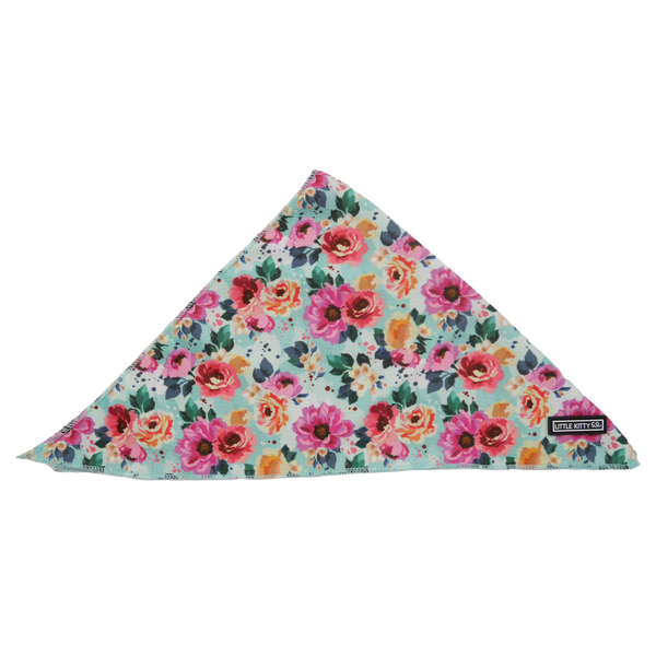 CAT BANDANA: That Floral Feeling (NEW!)
