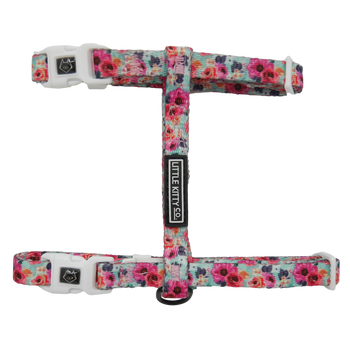 CAT STRAP HARNESS: That Floral Feeling
