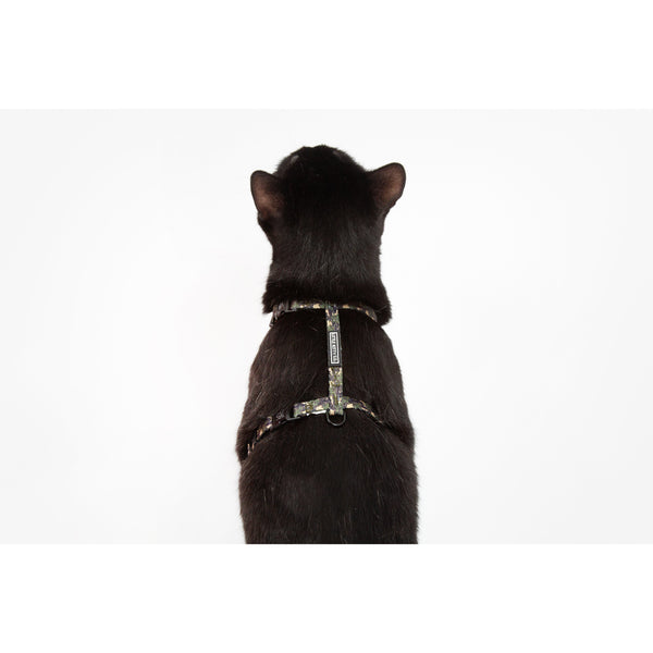 Little Kitty Co. Cat Strap Harness Catouflage Camouflage