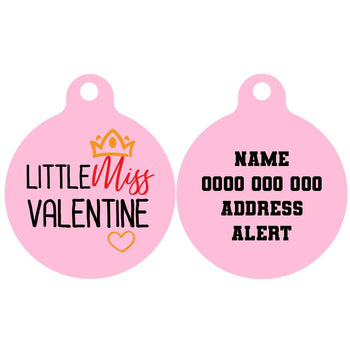 Pet ID Tag | Little Miss Valentine
