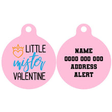Pet ID Tag | Little Mister Valentine