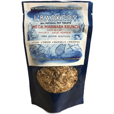 DOG TREATS L'Barkery Mega Marinara Krunch