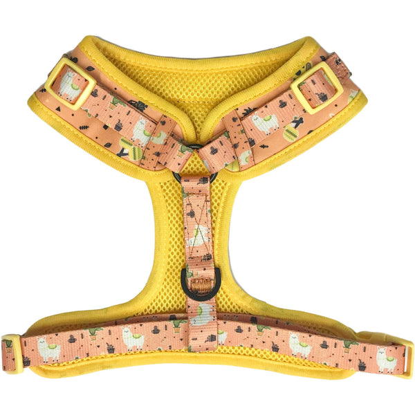 Adjustable Dog Harness for Big and Small Dogs MexiCali Mexican Llamas