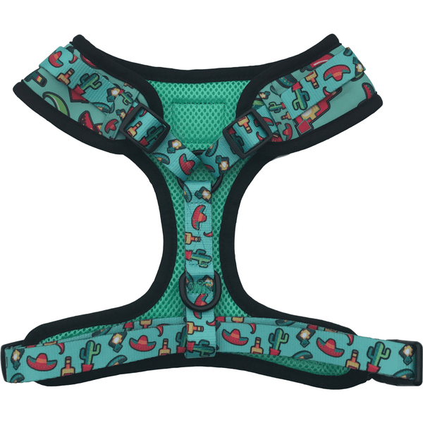 Adjustable Dog Harness for Big and Small Dogs Mexican Fiesta