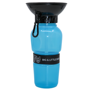 ON-THE-GO DOG WATER BOTTLE: Blue