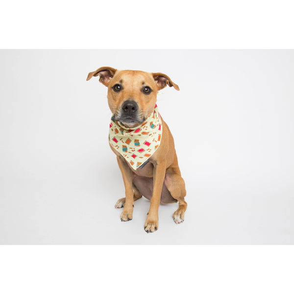 Peanut Butter Jelly Time Dog Cooling Bandana Neckerchief