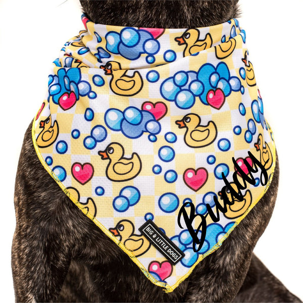 DOG NECKERCHIEF: Rubber Ducky
