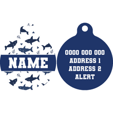 Premium Pet ID Tag | Shark Attack