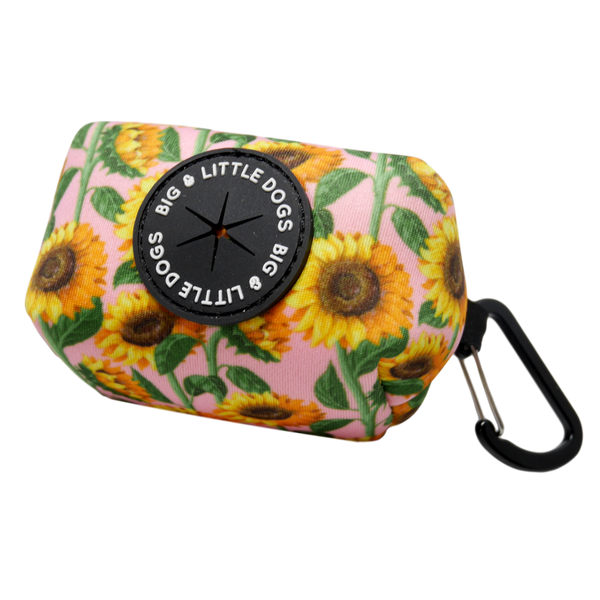 Dog Poop Bag Holder You Are My Sunshine Sunflowers