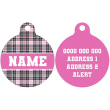 Premium Pet ID Tag | Pretty in Pink