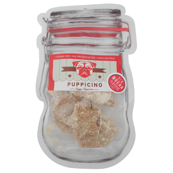 DOG TREATS L'Barkery Puppicino Cookies Mocha NEW!