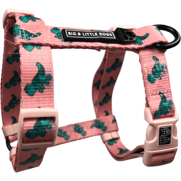 Raptor Dinosaur Dog Strap Harness