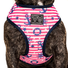 REVERSIBLE DOG HARNESS: Feeling Nauti {FINAL SALE}