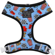 Reversible Dog Harness Movie Themed Cinema Popcorn Drinks Tickets