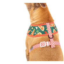 Reversible Dog Harness Pupperoni Pizza Pepperoni