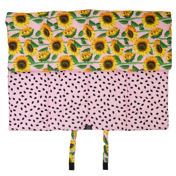 On The Go Pet Travel Mat You Are My Sunshine Sunflowers