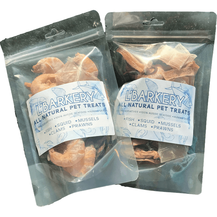 DOG TREATS L'Barkery Marinara Mix