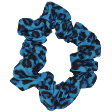 SCRUNCHIE: Blue Leopard (NEW!)