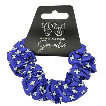 Scrunchie Blue Xs Nordic Crosses
