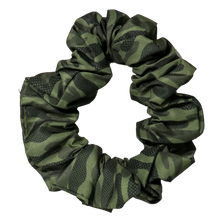 Hair Scrunchie Camouflaged