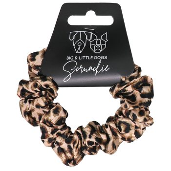 Hair Scrunchie Luxurious Leopard