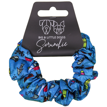 Scrunchie Hair Tie Surf's Up Surfing