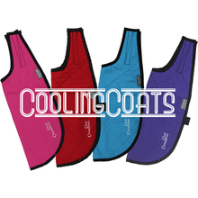 Silver Eagle Cooling Coats Pink Red Blue Purple