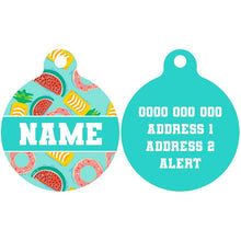 Premium Pet ID Tag | A Splashing Good Time