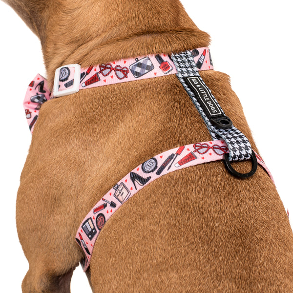 Strap Dog Harness Girl Boss Make Up Girly