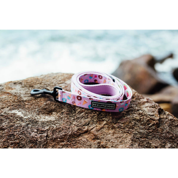 Dessert and Watermelon Dual Sided Neoprene Lined Dog Leash