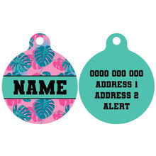 Premium Pet ID Tag | Summer Lovin' (Green)