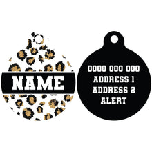 Pet ID Tag | Tis' the Season to Sparkle (with REAL GLITTER)