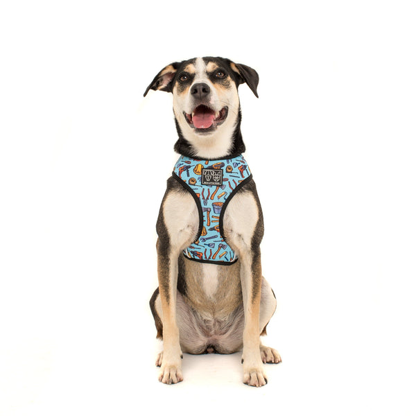 Under Construction Tool Construction Safety Reversible Dog Harness