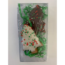 DOG TREATS Huds and Toke Christmas Tree Cookies | 2 Pces (in GIFT BOX)