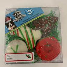 DOG TREATS Huds and Toke Mixed Cookie Box | Christmas | 4 Pces (in GIFT BOX)