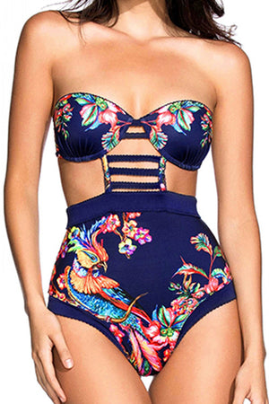 Poppoly All About Floral One-piece Swimsuit