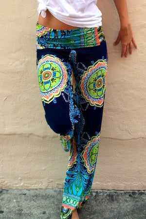 Poppoly Shore Thing Casual Print Pant