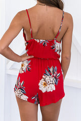 Poppoly Garden City Red Romper