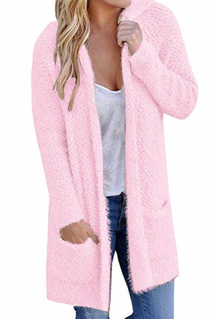 Poppoly Little Lamb Hooded Cardigan