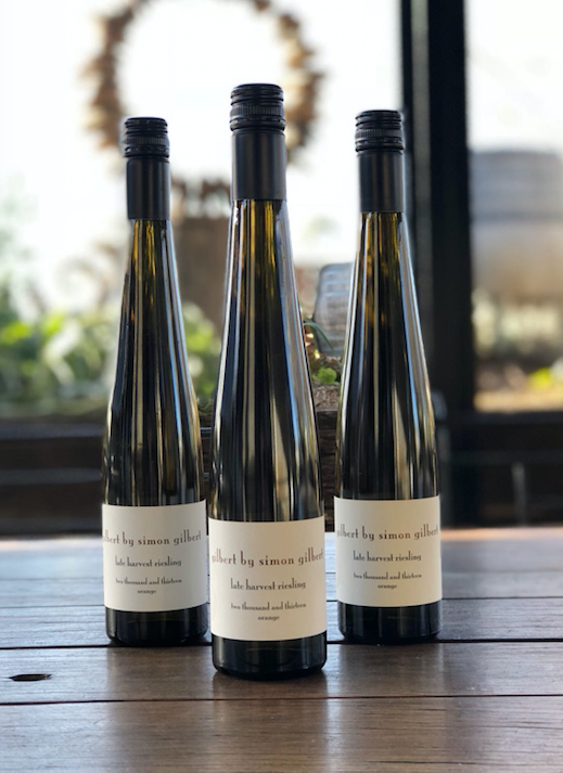 Gilbert 2013 Late Harvest Riesling WINS again!