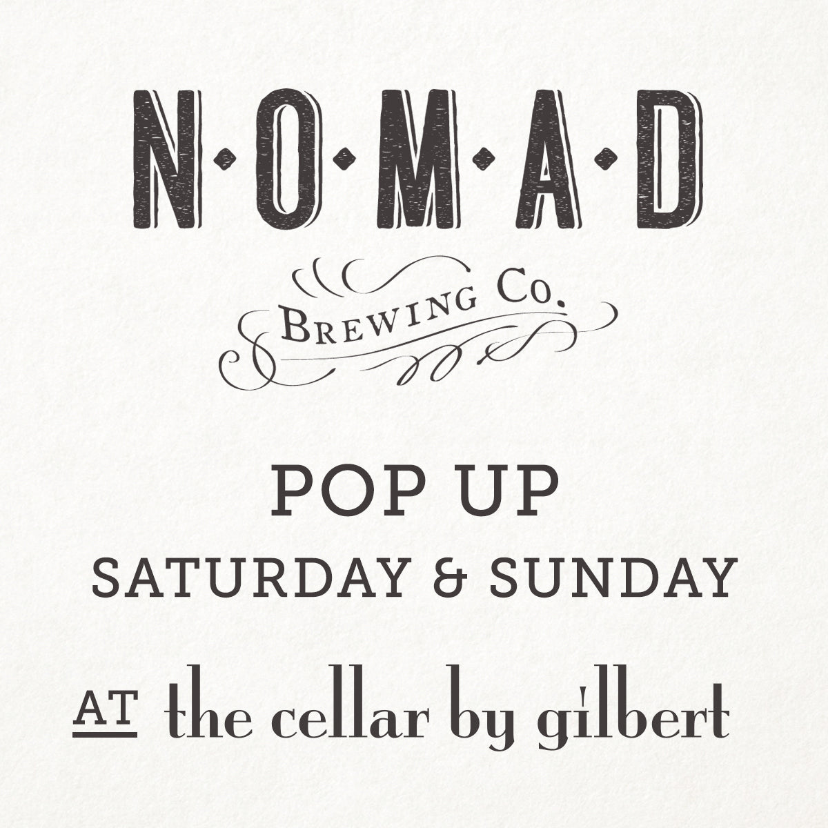 Nomad Brewing Co Pop Up - craft beer mudgee region Pip Sumbak