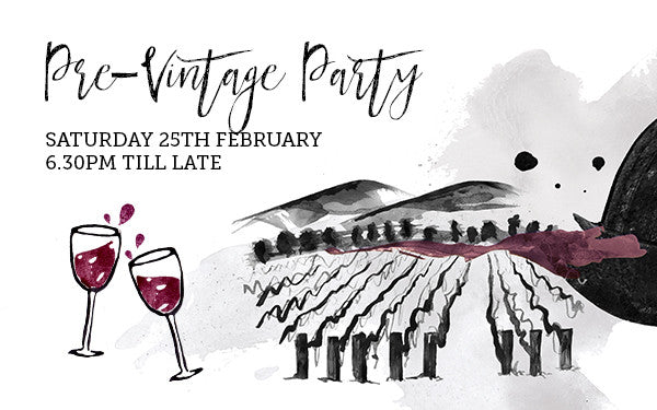 Pre-Vintage Party at The Cellar by Gilbert