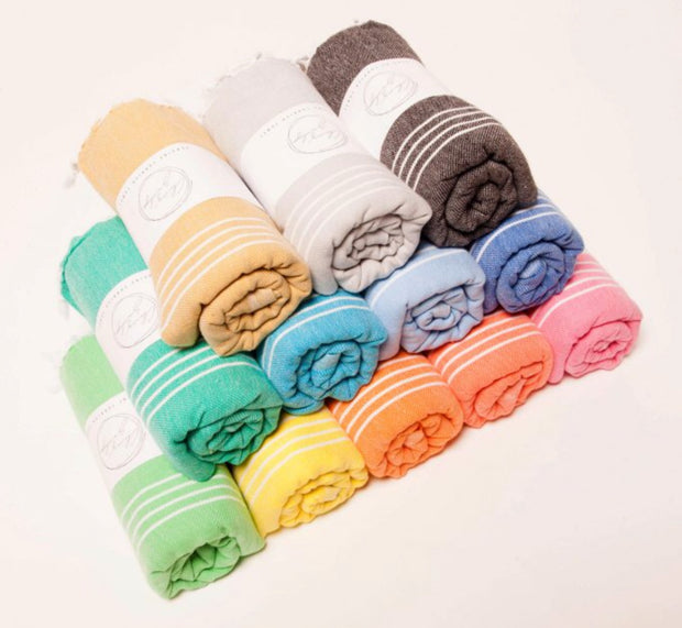 Classic Turkish towel - White Wood Boutique