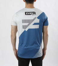 Load image into Gallery viewer, SPORT TEE - STRIPE BLUE