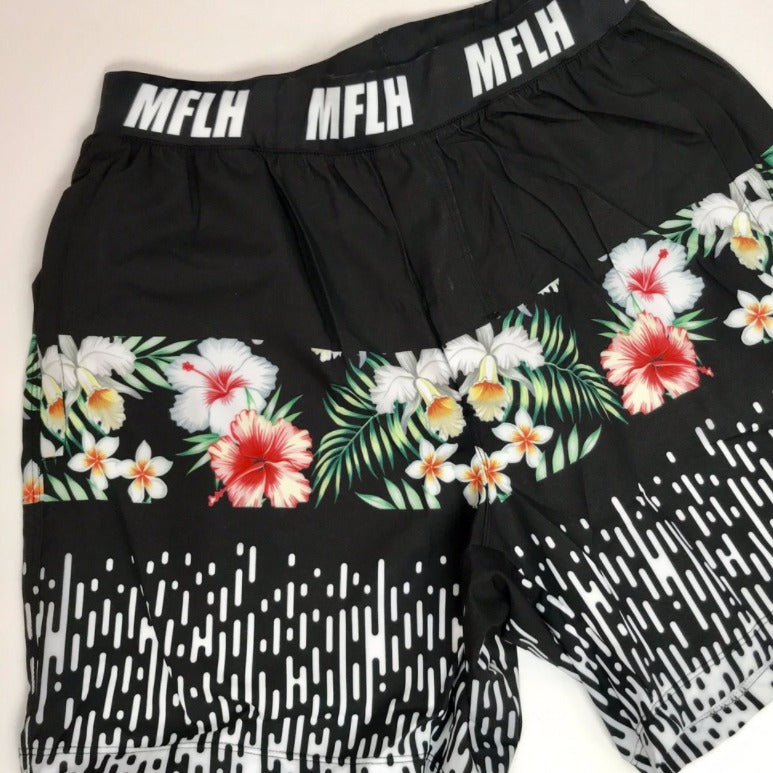WINTER FLORAL SHORTS X MFLH *LIMITED EDITION*