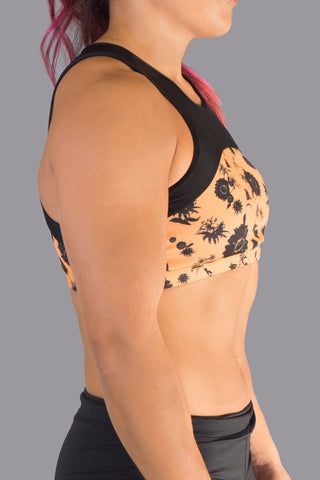 DOUBLE DIPPED SPORTS BRA