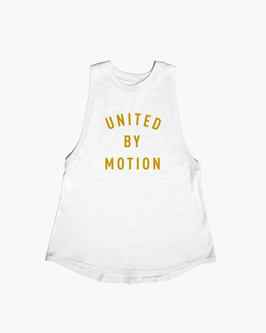 PRE-ORDER: MVMNT TANK - UNITED BY MOTION - WHITE