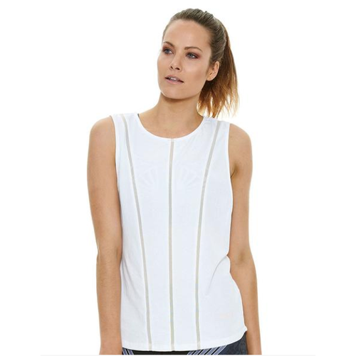 J'ATON X JAGGAD SHEER PANNELLED MUSCLE TANK